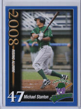 2008 Jamestown Jammers Team Set Card Giancarlo Mike Stanton FIRST EVER R.C. CARD