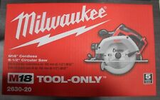 NEW Milwaukee M18 18 volt Cordless Heavy-Duty Circular Saw 3500 rpm 6-1/2 in.
