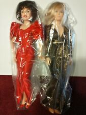 1985 World Dolls Krystle #71850 And Alexis #71840 Dynasty Celebrity Collection