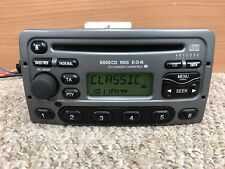 Ford 6000cd Car Radio Stereo Double Din Cd player + Code Fiesta Focus In Grey