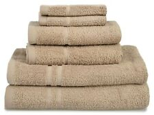 Allure Soft Luxury Absorbent 6 Piece Towel Bale Set Hotel Bathroom 450gsm