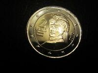 2 Euro Kursmünze Österreich 2002 Erstausgabe  bankfrisch im Münzrähmchen