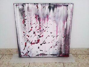 Abstrakte Bilder abstraktes Bild Kunst Abstrakt Rakeltechnik Steven XXL 0222