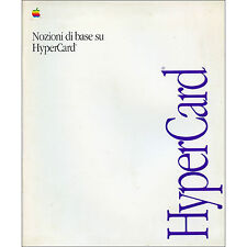 MANUALE ISTRUZIONI MAC hyper Card MACINTOSH APPLE originale  2