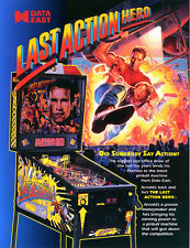 Data East last action hero pinball sound chip set
