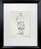 "Paul KLEE Lithograph LTD Edition ""The Witch with the Comb"" w/FRAME Included"