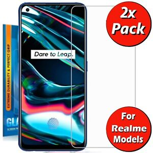 For Realme 2 3 5i 6i 7 Pro Lite X7 X2 X50 Tempered Glass Screen Protector Cover