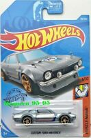 HOT WHEELS 2019 MUSCLE MANIA CUSTOM FORD MAVERICK GREY