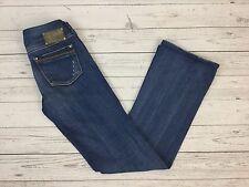 Diesel Industry Women's Ronhar Stretch Blue Bootcut Fit Jeans W27 L32