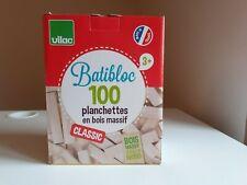 Jouet bois VILAC Batibloc/ Kapla  jeu de construction /Jura made in France