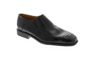 Giorgio Brutini Felix 155211 Mens Black Leather Low Top Casual Loafers Shoes 11