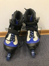 Men's Size 10 Rollerblades in line skates 2XS nice clean condition Inlines