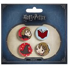 Harry Potter Official Chibi Hermione Sorting Hat Button Pin Badge Jewellery