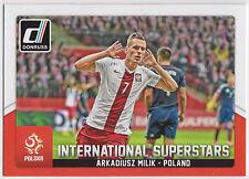 ARKADIUSZ MILIK 2015 Donruss Soccer International Superstars #72 Poland