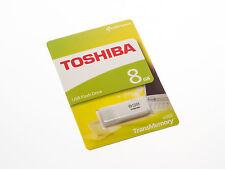 TOSHIBA 8GB Mini USB Stick 2.0 TransMemory Flash Drive Speicherstick U202 NEU