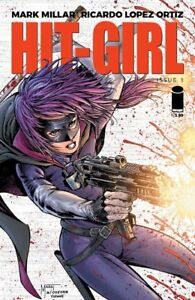 HIT-GIRL #1 2018 JESSE JAMES COMICS EXCLUSIVE LTD 500 IMAGE MARAT
