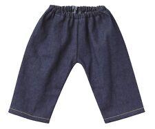Schwenk Puppenkleidung, Jeanshose dunkelblau,  für 36 - 40 cm Puppen