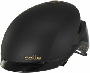 Bolle Premium Messenger Matte Black/Gold Medium 54-58cm Bicycle Helmet