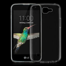 Ultra Thin Soft Silicon Crystal Clear Gel Back Skin Case Cover For LG K4 K120E