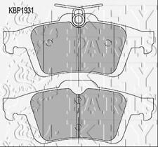 Key Parts Rear Disc Brake Pad Set Pads KBP1931 - GENUINE - 5 YEAR WARRANTY