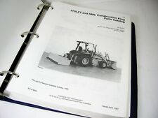 Case 570lxt And 580l Loader Construction King Backhoe Tractor Parts Manual Book