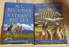 2 TSPB in Henderson's Ranch Romance series by M.L. Buchman~Nathan's Big Sky + 1