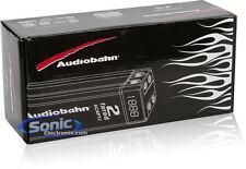 ACAP7J AUDIOBAHN CAR AUDIO CHROME CAP 2 FARAD CAPACITOR FOR SUB AMPLIFIERS NEW