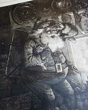 Santa Claus Christmas X-Mas Thomas Nast Prints 1878 Harper's Weekly Newspaper