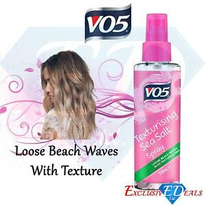 VO5 Sea Salt Texturising Spray 150ml Bottle Natural Loose Beach Waves