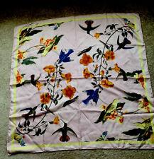 John J. Audubon Silk Scarf New York Historical Society