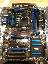 MSI H87-G43, Socket 3, Intel Motherboard