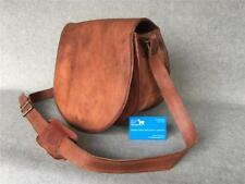 Handmade Goat Leather Handbag Moon Shoulder Bag N-SBF YKK zip Billy Goat Designs
