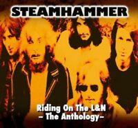 STEAMHAMMER - RIDING ON THE L&N-THE ANTHOLOGY  2 CD  25 TRACKS ROCK & POP  NEU