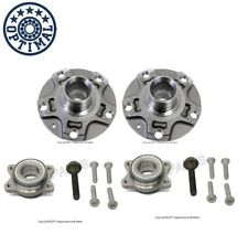 New Audi A4 A6 Quattro S4 Set of 2 Front Wheel Hubs with Bearings Optimal