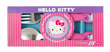 Hello Kitty-stainless steel flatware set