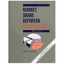Market Share Reporter 2014: 2 Volume Set-ExLibrary