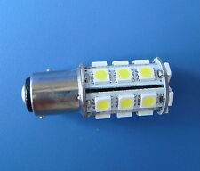 2x BAY15D 1157 Marine lights, boat bulb 24-5050 SMD LED AC/DC 12~24V,White