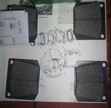 MG C MGC Marcos Mantis 1500 1600 2000 3.0 FRONT BRAKE PADS (1966- )