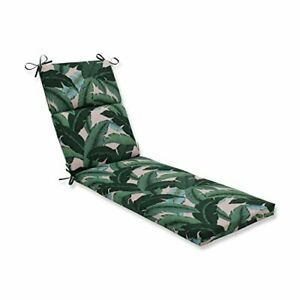 """Pillow Perfect Outdoor/Indoor Swaying Palms Capri Chaise Lounge Cushion 72.5""""..."""