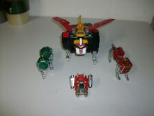 Vintage Diecast Voltron Lionbot robot Taiwan RARE 1980 incomplete!