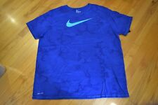 Nike Logo Camouflage Training Dri-Fit T-Shirt Men's Size: XX-Large (2XL) NWT