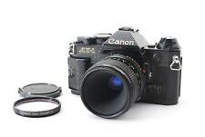 【 Como Es 】 Canon AE-1 Program Negro + Terranova 50mm f3.5 Macro Lente De Japón