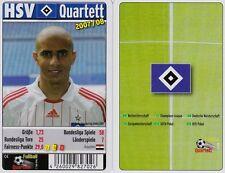HSV Hamburg SV Quartett Kartenspiel 2007/2008 Karten Fußball Neu OVP