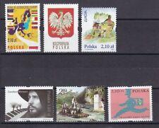 Echte Posten- & Lots-Briefmarken aus Polen ab 1946