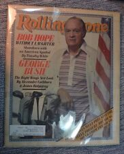 Rolling Stone March 20 1980 Bob Hope Cover with George Bush, Right Wing & Ramone