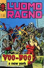 [969] L' UOMO RAGNO ed. Corno 1976 n.  163 stato Buono