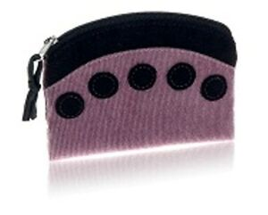 Pink Coin Purse Cotton with Spot design Zip Closure - Fair Trade BNWT