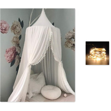 Bed Canopy Round Dome,Mosquito Net,Crib Canopy Bed Canopy for Kid's Reading Ro