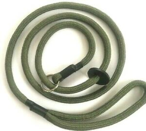 HANDMADE STRONG GUN DOG TRAINING/ PET SLIP LEAD DOUBLE BRAIDED NEW 9 MM