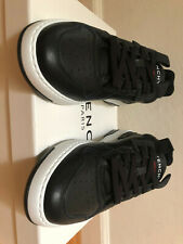 Givenchy Basket Wing Low Black Leather Sneakers Men New Size 41eu 8us